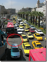 Picture of a traffic jam, courtesy of http://www.flickr.com/photos/travel_aficionado/2255177001/, Creative Commons License