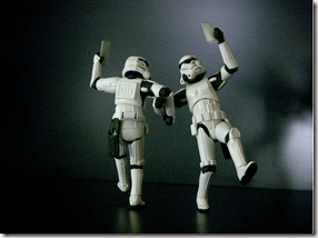 Dancing Stormtroopers for no reason