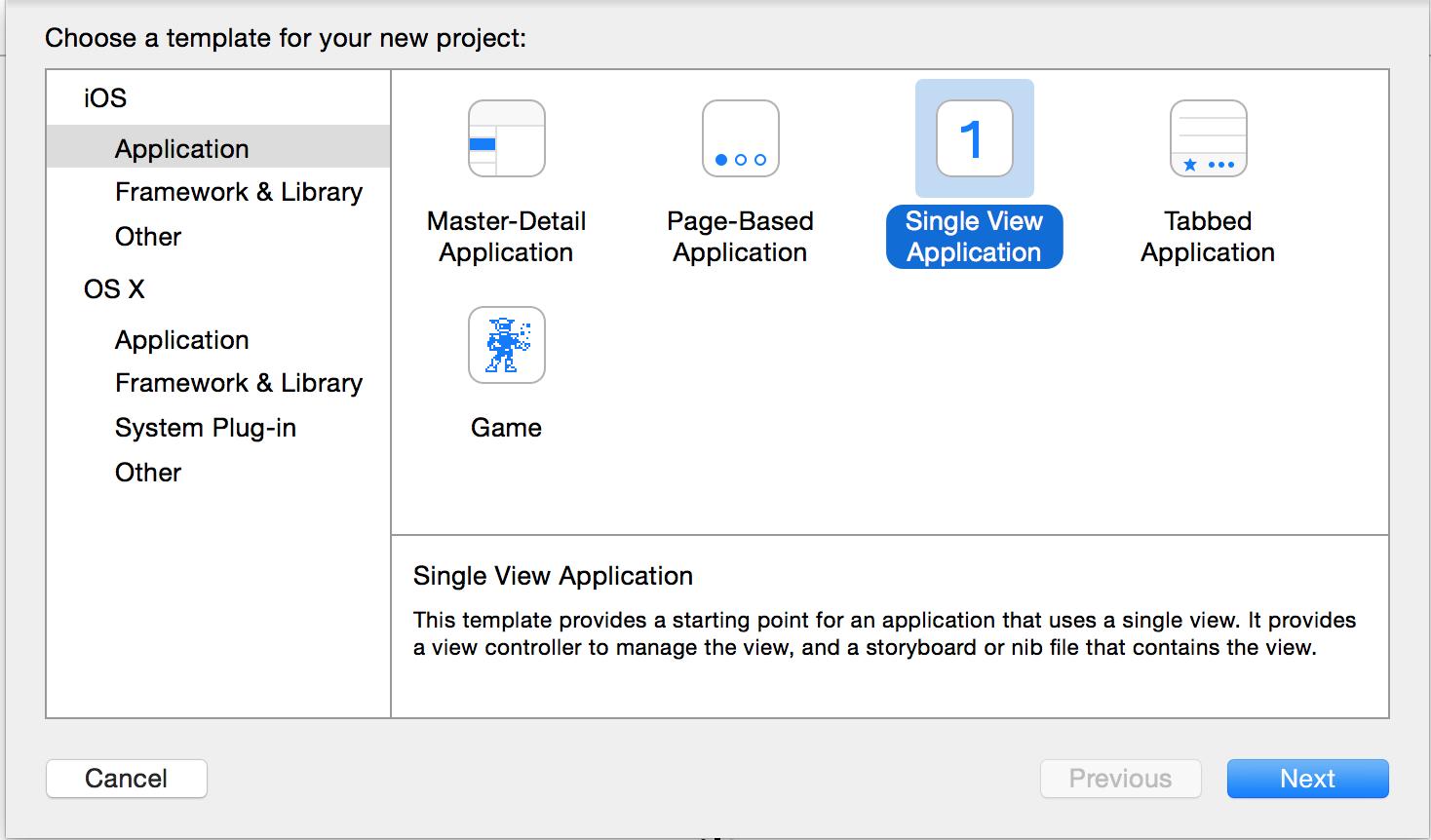 Single View Application